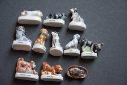 Fèves - Série Complète - Les Chiens - Animals