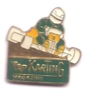VP172 Pin's Karting Kart Top Magazine Achat Immédiat - Pin's