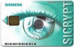 Siemens - SICRYPT Card - Telefonkarten
