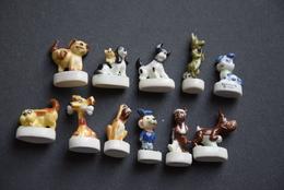 Fèves - Série Complète - Les Chiens Rigolos - Animals