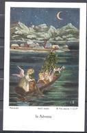 Image Pieuse In Adventu  Ars Sacra Signée KEUSSEN - Images Religieuses