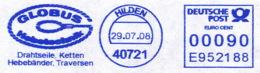 Freistempel 8910 Ketten Drahtseile - Marcophilie - EMA (Empreintes Machines)