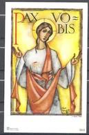 Image Pieuse PAX VOBIS Signée JOAN COLLETTE - Images Religieuses