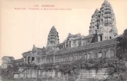 CAMBODGE Cambodia -  ANGKOR-VAT Ensemble Vu De La Deuxième Galerie Sud - CPA - Kambodscha Cambodgia - Kambodscha