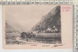 VALLE D'AOSTA - GRESSONEY S.JEAN PANORAMA 1902 - Aosta