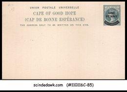CAPE OF GOOD HOPE - 1d QV UPU POST CARD - OVPT - MINT - UPU (Wereldpostunie)