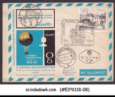 AUSTRIA - 1964 SPECIAL BALLOON COVER WITH UPU CANCELLATION - UPU (Wereldpostunie)