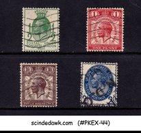 GREAT BRITAIN - 1929 9th UNIVERSAL POSTAL UNION CONGRES UPU SG#434-37 4V USED - UPU (Wereldpostunie)