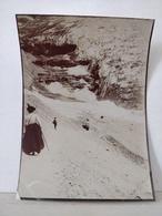 Photo. Suisse. Grindelwald. Glacier. 9x6.5cm - Anciennes (Av. 1900)