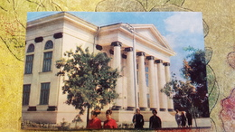 Russia. Chechen Republic - Chechnya. Groznyi Capital Republican Library - Old Postcard 1968 - Tchétchénie