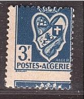 Lot 129 - ALGÉRIE Blason Alger Piquage à Cheval  - Session Tout à 5€ - Algeria (1924-1962)