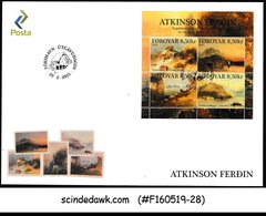 FAROE ISLANDS - 2015 ATKINSON'S EXPIDITION / PAINTINGS - M/S FDC - Isole Faroer