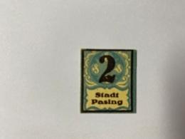 Allemagne Notgeld Pasing 2 Pfennig - [ 3] 1918-1933 : République De Weimar
