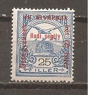 Hungría-Hungary Nº Yvert  151 (MH/*) - Hungría