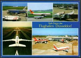 D5080 - Düsseldorf - Flughafen Aerodrom Airport - Flugzeug - Rahmel Verlag - Aerodromi