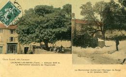 Lacaune Les Bains  Marronnier Séculaire  Le Marronnier Mutilé  Orage 31 Octobre 1906 - Andere Gemeenten
