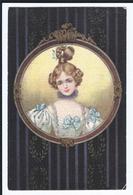 Femme   Romantique     CPA Dos  Divisé     Ecrite Pas Oblitérée Ed Italienne ULTRA - 1900-1949