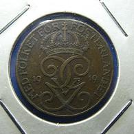 Sweden 5 Ore 1919 - Suecia