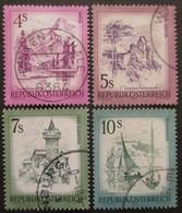 AUTRICHE Série N°1259 Au 1262 Oblitéré - Timbres