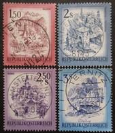 AUTRICHE Série N°1269 Au 1272 Oblitéré - Timbres