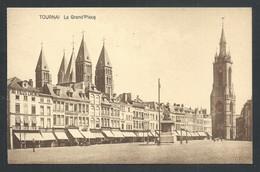 +++ CPA - TOURNAI - La Grand'Place  // - Tournai