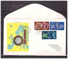 United Kingdom 1961 FDC Europa CEPT - 1952-1971 Em. Prédécimales