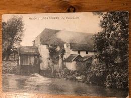 """Miscom Miskom De Watermolen """"Swinnen-Arnauts Glabbeek"""" Verstuurd 1911 Voorheen Molen Geens Stempel Naar Bruxelles - Kortenaken"""