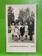 Nos Enfants Grand-ducaux 1936 - Cartes Postales