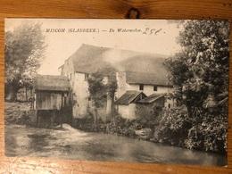 """Miscom Miskom De Watermolen """"Uitg: Winnen-Arnauts Glabbeek"""" Opschrift!!verstuurd 1911 Molen Geens Stempel Naar Bruxelles - Kortenaken"""