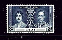 Fiji 116 MNH 1937 Issue - Fiji (1970-...)