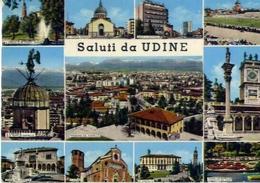 Saluti Da Udine - Formato Grande Viaggiata – E 15 - Udine
