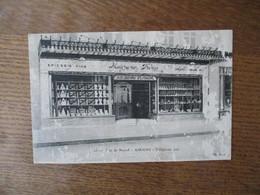 MAGRANER FRERES AUX JARDINS D'ESPAGNE EPICERIE FINE FRUITS PRIMEURS RUE DE NOYON 1926   VOIR ETAT - Amiens