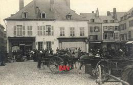 Photo: Givet, Longwy, Mercerie, Attelage, Photo D'une Ancienne Carte Postale, 2 Scans - Lieux