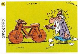 Cyclisme JO 92 Image Adhésif Autocollant La Vache Qui Rit Fromagerie Bel Astérix - Other