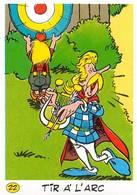 Tir à L'arc JO 92 Image Adhésif Autocollant La Vache Qui Rit Fromagerie Bel Astérix - Other