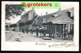 KOUDEKERKE Dorpsplein Hoefsmid A. De Looff Politieagent Militair 1902 Lees Toelichting - Autres