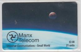 ISLE OF MAN 1997 UNIVERSAL COMMUNICATIONS SMALL WORLD SPACE - Man (Ile De)