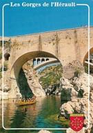 34 Les Gorges De L'Hérault (2 Scans) - Sin Clasificación