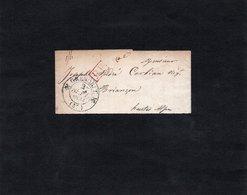 1834 - Petite Bande Pour Journaux Fermée  - Cachet GRENOBLE - Griffe Rouge P P - Journaux