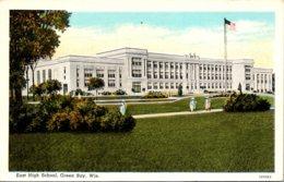 Wisconsin Green Bay East High School Curteich - Green Bay