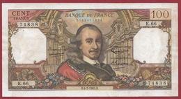 "100 Francs ""Corneille"" Du 04/02/1965.B---TTB---ALPH .K.66 - 100 F 1964-1979 ''Corneille''"