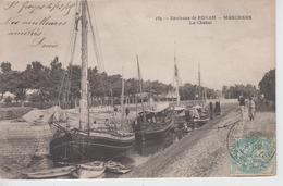 CPA Environs De Royan - Meschers - Le Chenal (jolie Scène) - Meschers