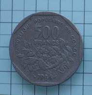 500 FRANCS CONGO 1986 - Colonies