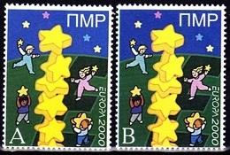 Europa - 2000 - Transnistria, PMR. **White A+B** (Moldova) - Local Issue ** MNH - 2000
