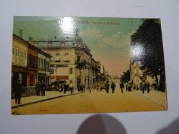 CPA 57   SARREBOURG Faubourg De France Très Animée 1932 TBE - Sarrebourg