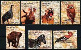 Guinea-Bissau 1988 Mi.No. 982 - 988 Animals Birds 7v MNH** 14,00 € - Guinée-Bissau