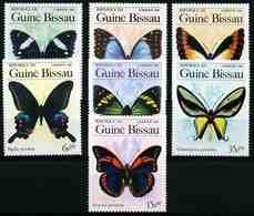 Guinea-Bissau 1984 Mi.No. 811 - 817  Insects Butterflies 7v MNH** 6,00 € - Guinée-Bissau