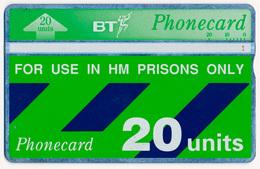 UK - UNITED KINGDOM PRISONS BT LANDIS & GYR L&G 20 UNITS MAGNETIC TELECARTE PHONECARD PERFECT - Ver. Königreich