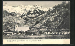 AK Dorfgastein, Schuhflicker Mit Der Arlspitze - Autriche