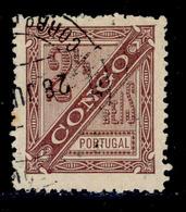 ! ! Congo - 1894 D. Carlos 2 1/2 R (Perf. 13 1/2) - Af. 01a - Used - Congo Portugais